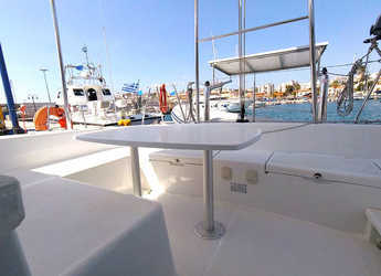 Rent a catamaran in Port Lavrion - Lagoon 38