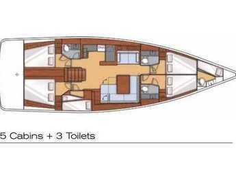 Alquilar velero Oceanis 55 en Kos Port, Kos