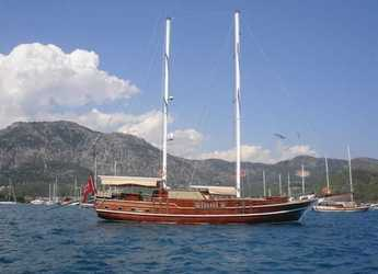 Rent a schooner in Göcek - Gulet 78