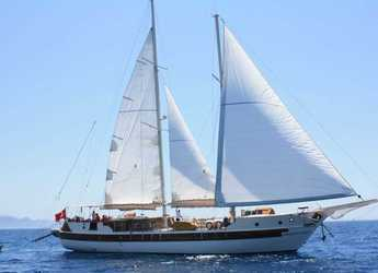 Rent a schooner in Port Gocëk Marina - Gulet