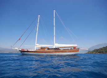 Rent a schooner in Netsel Marina - Gulet Holiday X
