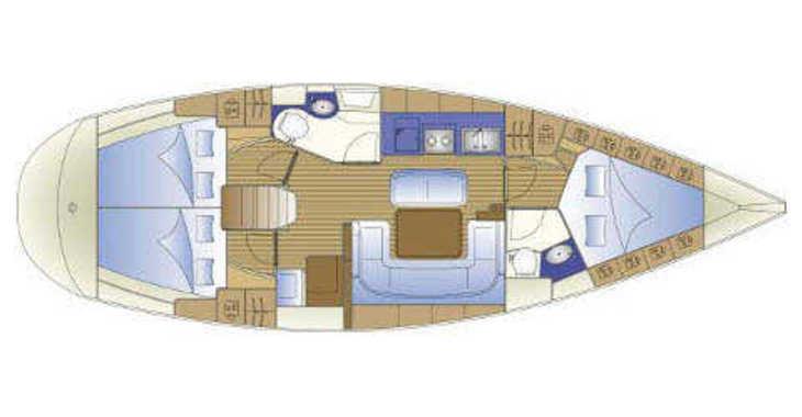 Rent a sailboat in Trogir (ACI marina) - Bavaria 41