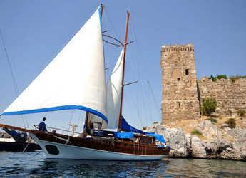 Rent a schooner in Bodrum Marina - Gulet Gusto