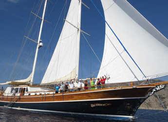 Rent a schooner in Bodrum Marina - Gulet Kaya Guneri IV