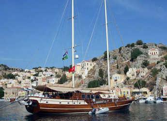 Rent a schooner in Bodrum Marina - Gulet Tanem