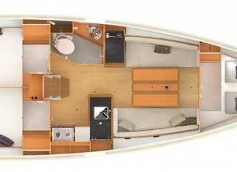 Rent a sailboat Sun Odyssey 349 in Marina Port Pin Rolland, Port Pin Rolland