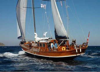 Rent a schooner in Ören / Bodrum - Gulet 88
