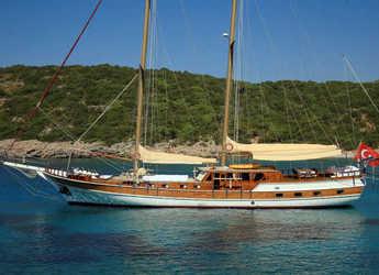 Rent a schooner in Bodrum Marina - Gulet Kaya Guneri II