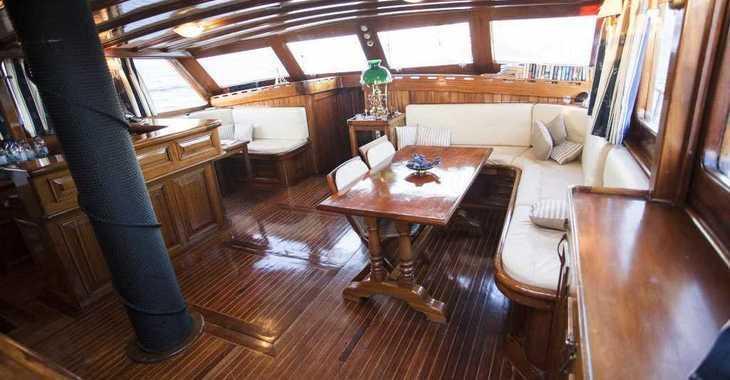 Rent a schooner in Alimos Marina Kalamaki - Gulet 100