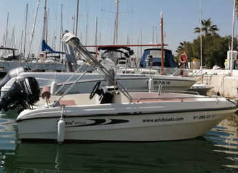 Chartern Sie motorboot in Port d'Aiguadolç - Karel