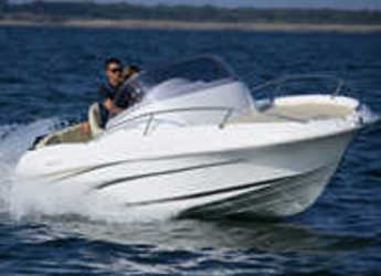 Rent a motorboat in Port d'Aiguadolç - FLYER 550