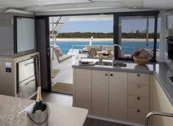 Chartern Sie katamaran in Rodney Bay Marina - Lucia 40