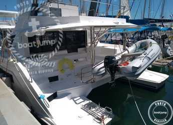 Rent a power catamaran  in Naviera Balear - Moorings 434 PC (Club)