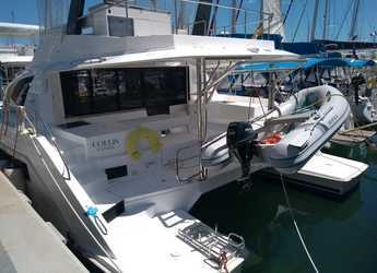 Rent a power catamaran in Naviera Balear - Moorings 434 PC (Exclusive Plus)