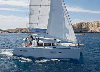 Rent a catamaran in Port Adriano - Lagoon 400