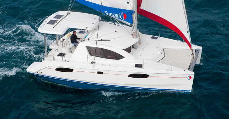 Rent a catamaran in Tradewinds - Sunsail 404 (Premium)