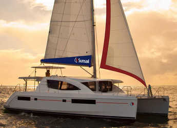 Rent a catamaran in Wickhams Cay II Marina - Sunsail 484 (Classic)