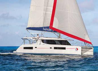 Rent a catamaran in Wickhams Cay II Marina - Sunsail 454 (Classic)