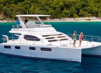Rent a power catamaran in Nanny Cay - Leopard 47 Power Catamaran