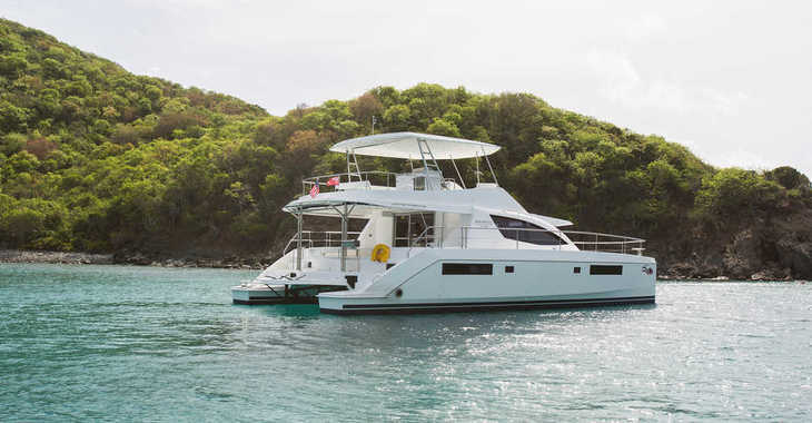 Rent a power catamaran  in Wickhams Cay II Marina - Moorings 514 PC