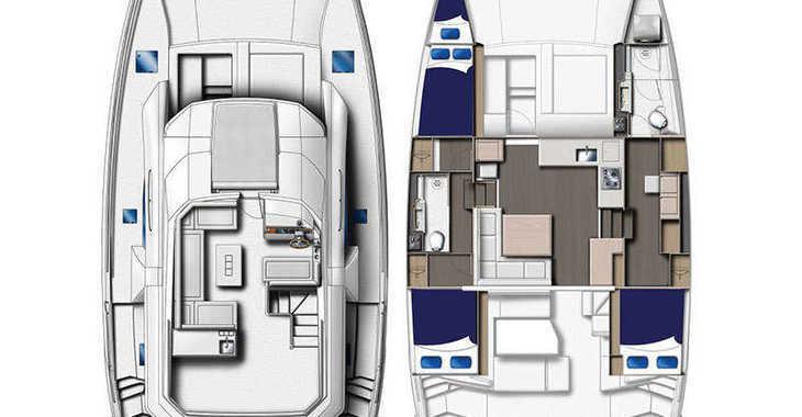 Rent a power catamaran  in Tradewinds - Moorings 433 PC (Club)
