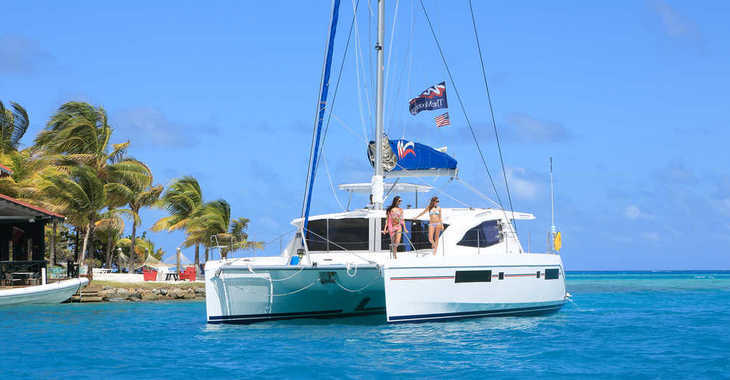 Rent a catamaran in Marina Gouvia - Moorings 4800 (Club)