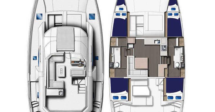 Louer catamaran à moteur à Port of Mahe - Moorings 434 PC (Club)