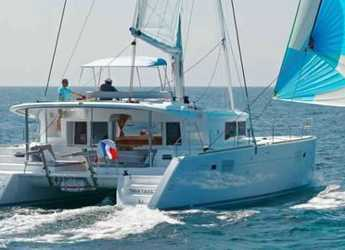 Rent a catamaran in Lefkas Nidri - Lagoon 450 Flybridge.