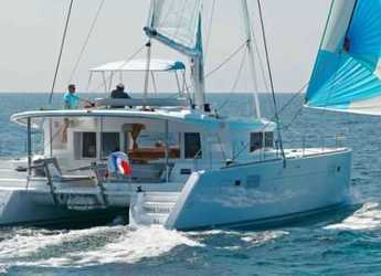 Rent a catamaran in Lefkas Nidri - Lagoon 450 Fly A/C & GEN