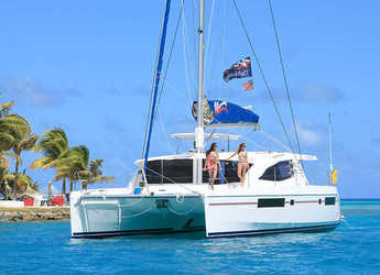 Rent a catamaran in Rodney Bay Marina - Moorings 4800 (Club)