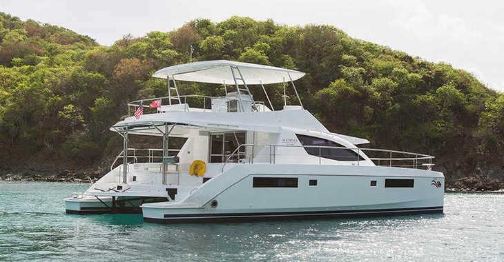 Rent a power catamaran  in Wickhams Cay II Marina - Moorings 514 PC (Exclusive)