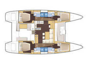 Rent a catamaran Lagoon 400 S2 in Nuovo Porto Touristico, Olbia