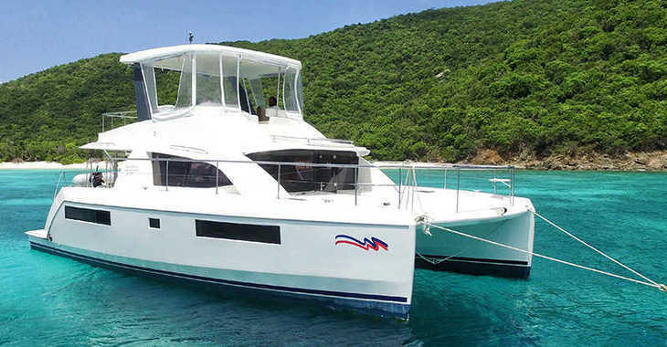 Rent a power catamaran  in Marina Gouvia - Moorings 434 PC