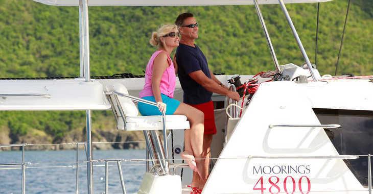 Rent a catamaran in Wickhams Cay II Marina - Moorings 4800