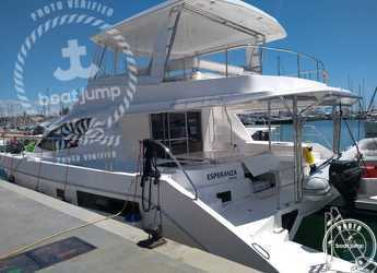 Rent a power catamaran  in Naviera Balear - Moorings 514 PC  (Exclusive)