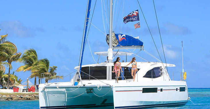 Rent a catamaran in Wickhams Cay II Marina - Moorings 4800 (Crewed)