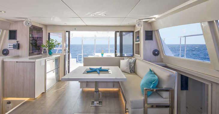 Rent a power catamaran  in Marina Gouvia - Moorings 434 PC (Club)