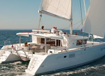 Louer catamaran à Naviera Balear - Lagoon 450