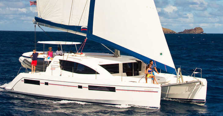 Rent a catamaran in Rodney Bay Marina - Moorings 4800