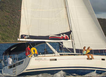 Rent a sailboat in Marina Fort Louis - Moorings 453 (Club)