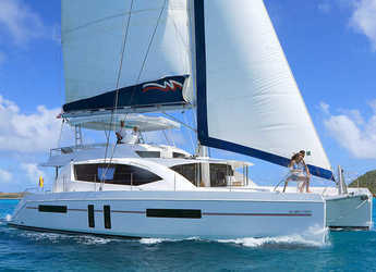 Rent a catamaran in Rodney Bay Marina - Moorings 5800 (Crewed)