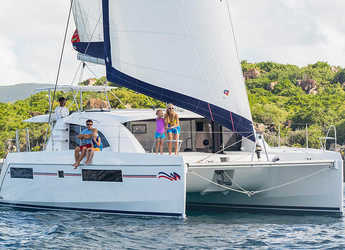Rent a catamaran in Rodney Bay Marina - Moorings 4000/3