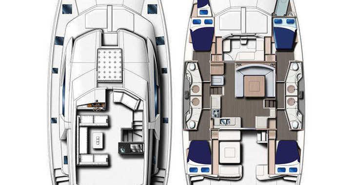 Rent a power catamaran  in Wickhams Cay II Marina - Moorings 514 PC (Crewed)