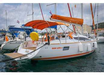 Rent a sailboat in Split (ACI Marina) - Elan 40 Impression