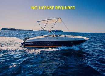 Chartern Sie motorboot in Club Naútico de Sant Antoni de Pormany - Bayliner Element E5 ( Sin Licencia )