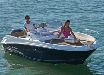 Rent a dinghy in L'Ametlla de Mar - Cap Camarat 625