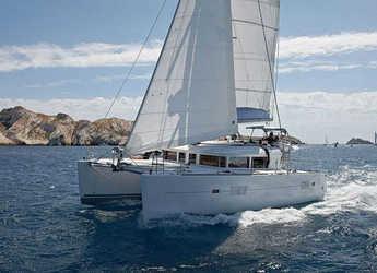 Rent a catamaran in Marina Mandraki - Lagoon 400-S2 (4Cab)