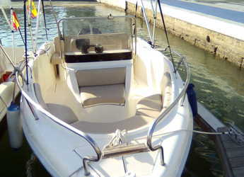 Rent a dinghy in L'Ametlla de Mar - R10 500