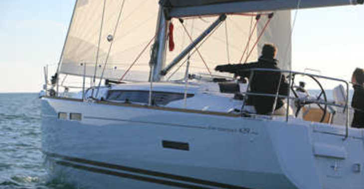 Rent a sailboat in SCT Marina Trogir - Sun Odyssey 439