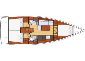 Louer voilier à SCT Marina Trogir - Oceanis 38.1